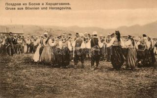 Bosnian and Herzegovinan folklore, folk dance, Bosznia-Hercegovinai folklór, néptánc