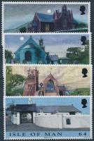 1999 Karácsony: templomok sor Mi 831-834