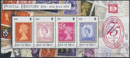 2001 II. Erzsébet királynő, HAFNIA nemzetközi bélyegkiállítás blokk Mi 43 I