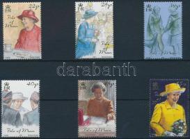 2001 II. Erzsébet királynő sor Mi 943-948