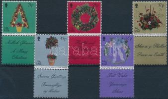 2001 Karácsony szelvényes sor Mi 949-953 Zf