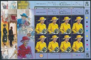 2001 II. Erzsébet királynő kisívsor Mi 943-948