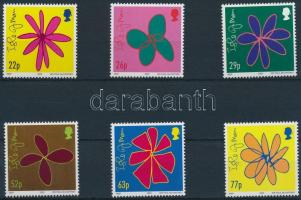 2002 Virágrajzok sor Mi 978-983