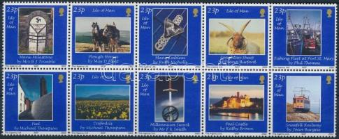2002 Fotók (II) tízestömb Mi 994-1003