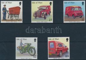 2003 Postai járművek sor Mi 1040-1044