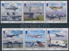 2003 Repülőgépek 2 hármascsík Mi 1051-1056