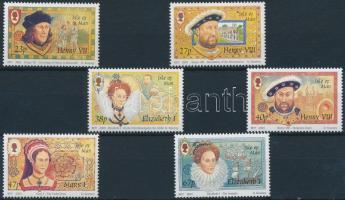 2003 A Tudor-dinasztia vége sor Mi 1068-1073