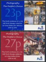 2002 Fotók (III) 2 öntapadós bélyegfüzet MH 0-13 + 0-14 (Mi 1004-1023)