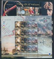 2005 A trafalgari csata 200. évfordulója kisívsor Mi 1183-1190