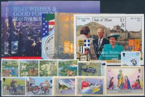1997 11 klf bélyeg teljes sorokban + 5 klf blokk (2 blokk ugyanolyan)
