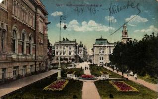 Arad, Kultúrpalota / cultural palace (EM)