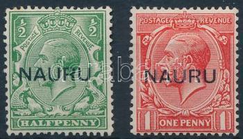 1916/1923 2 db Forgalmi érték Mi 1-2 II