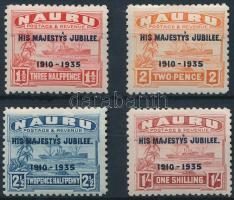 1935 Királyi jubileum sor Mi 29-32