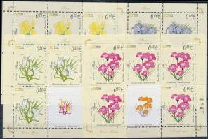 2008 Virágok kisív sor Mi 160-165