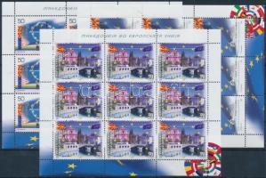 2008 EU csatlakozás kisív sor Mi 464-466