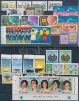 1975-1979 39 db bélyeg és 1 blokk 3 stecklapon