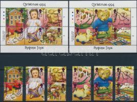 1994 Karácsony sor + kisív sor Mi 650-661