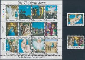 1996 Karácsony kisív Mi 713-726