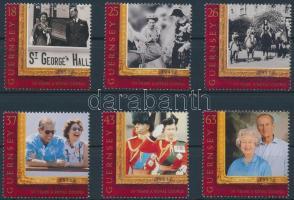 1997 II. Erzsébet királynő és Károly herceg sor Mi 753-758