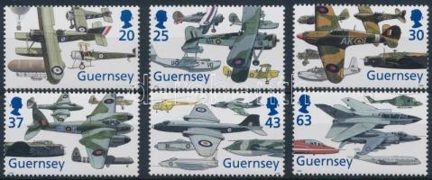 1998 80 éves a királyi légierő sor Mi 773-778