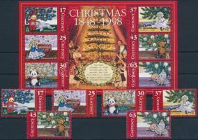 1998 Karácsony sor Mi 786-791 + blokk 22