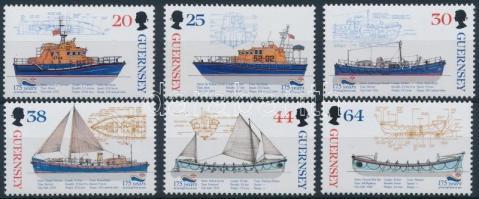 1999 Hajók sor Mi 802-807