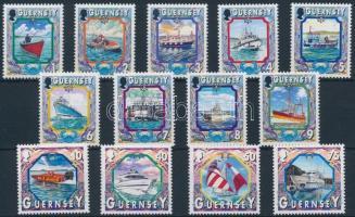 1999 Hajók sor Mi 819-832