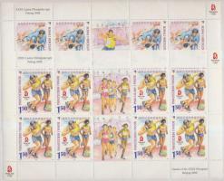 2008 Nyári olimpia, Peking kisívsor Mi 520-521