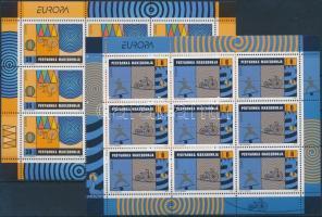 2002 Europa CEPT kisívsor Mi 254-255