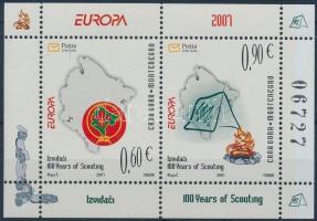 2007 Europa CEPT blokk Mi 6