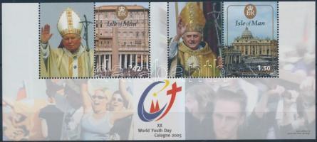 2005 Ifjúsági világnap blokk Mi 54