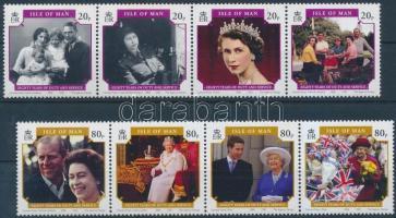 2006 II. Erzsébet királynő 2 négyescsík Mi 1257-1264
