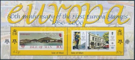 2006 50 éves az Europa CEPT-es bélyeg blokk Mi 57