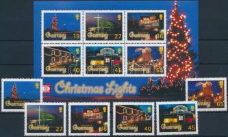 2001 Karácsony sor Mi 907-912 + blokk 28