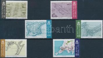 2007 Térképek sor Mi 1385-1390