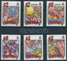 2002 Europa CEPT, Cirkusz sor Mi 913-918