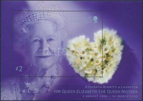2002 Erzsébet anyakirálynő halála blokk Mi 31