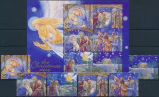2002 Karácsony sor Mi 949-954 + blokk 32