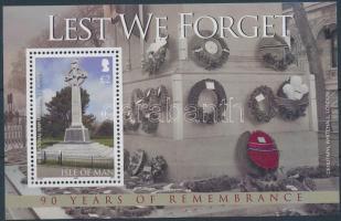 2008 90 éve ért véget az I. világháború blokk Mi 66
