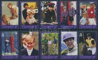 2003 Vilmos herceg 21. születésnapja sor Mi 973-982