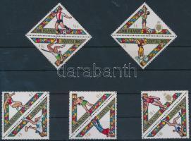 1969 Sport sor párokban Mi 218-227