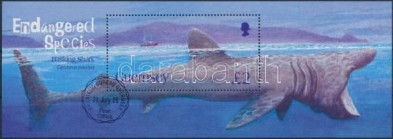 2005 Veszélyeztetett állatok blokk Mi 40