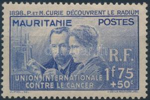 1938 Curie: Rádium felfedezésének 40. évfordulója Mi 77