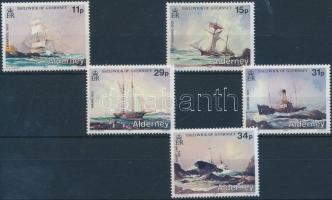 1987 Hajóroncsok sor Mi 32-36