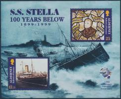 1999 Stella gőzhajó, UPU blokk Mi 5