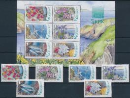 2008 Vízi állatok és növények sor Mi 1179-1184 + blokk 47