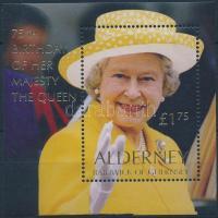 2001 II. Erzsébet királynő blokk Mi 9
