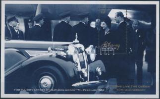 2002 II. Erzsébet királynő blokk Mi 11