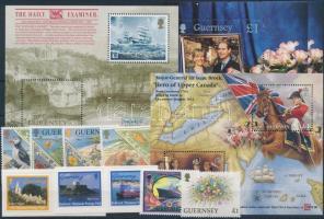 1994-1999 10 db bélyeg, közte teljes sor és öntapadós értékek + 3 db blokk