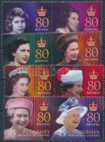 2006 II. Erzsébet királynő sor párokban Mi 272-279
